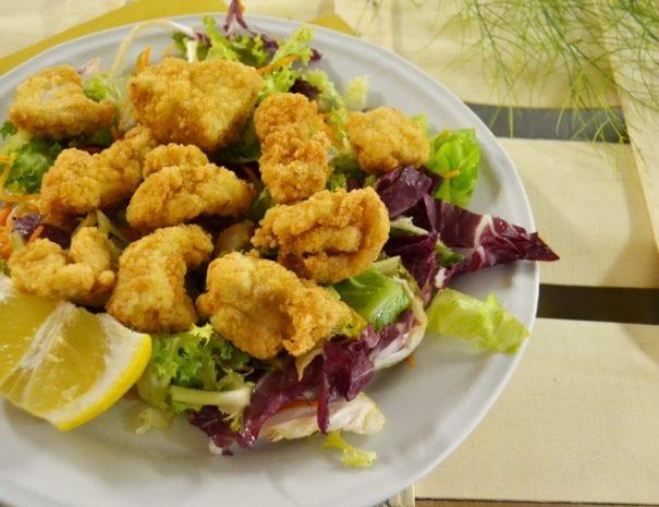 bocconcini di pollo fritto ristorante marsciano oasi villaggio